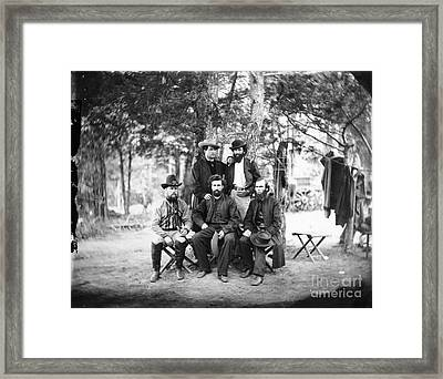 Civil War: Irish Brigade Framed Print