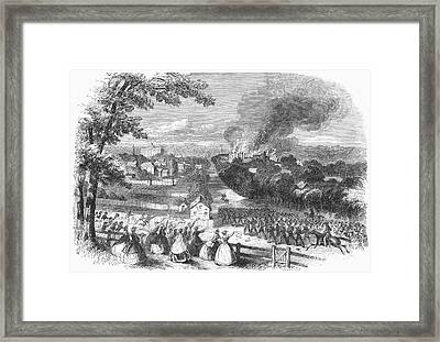 Civil War: Jackson, 1863 Framed Print by Granger