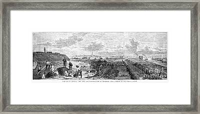 Civil War: Savannah, 1863 Framed Print by Granger