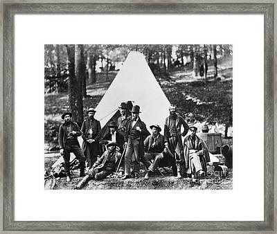 Civil War: Scouts, 1862 Framed Print by Granger