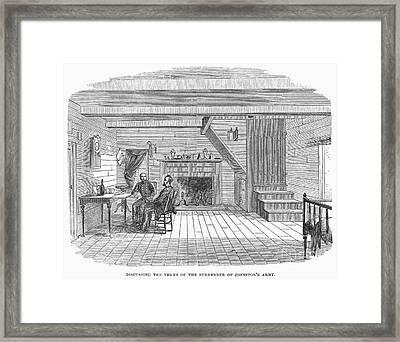 Civil War: Surrender Framed Print by Granger