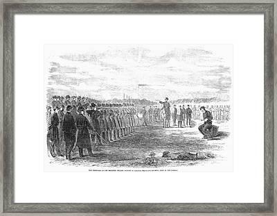 Civil War: Union Deserter Framed Print by Granger