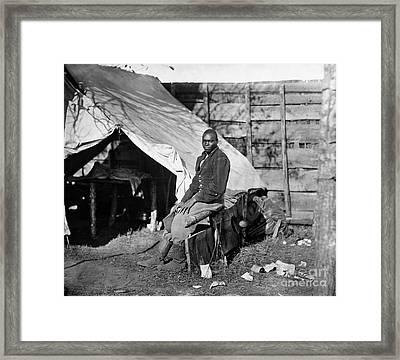 Civil War: Union Servant Framed Print by Granger