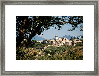 Framed Print featuring the photograph Civitavecchia by Dany Lison