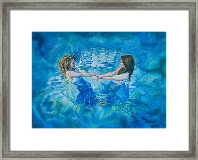 Clair De Lune Framed Print by Gilly Marklew