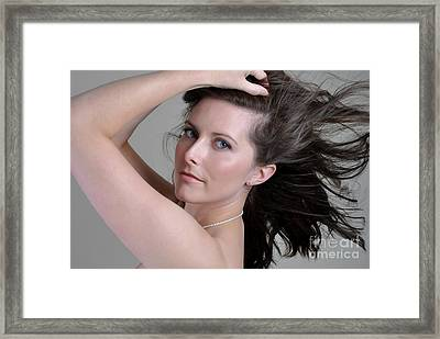 Claire11 Framed Print