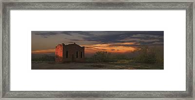 Clairmont Jail Framed Print by Robert Hudnall