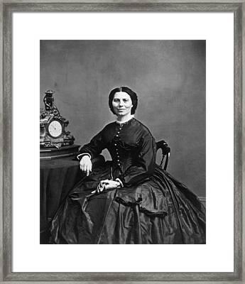 Clara Barton 1821-1912, Photograph Framed Print
