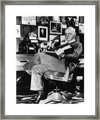 Clarence Birdseye, Circa 1950 Framed Print by Everett