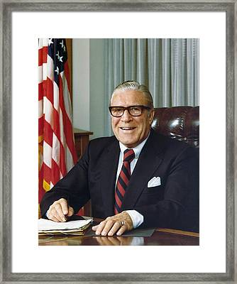 Clarence Kelley As Director Of The Fbi Framed Print by Everett