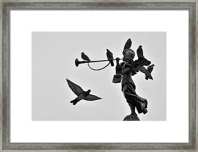 Clarinet Statue Framed Print by CarlosAlbertoPhoto