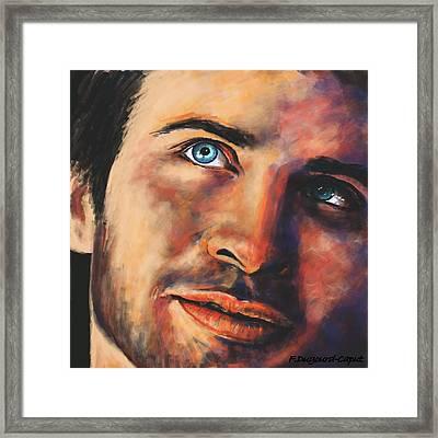 Clark Framed Print
