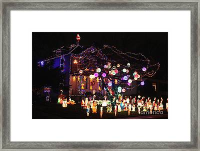 Clark Griswold's Home Framed Print by David Bearden