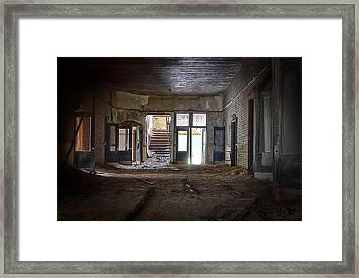 Clark School 24 Framed Print by Scott Hovind
