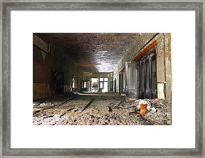 Clark School 28 Framed Print by Scott Hovind