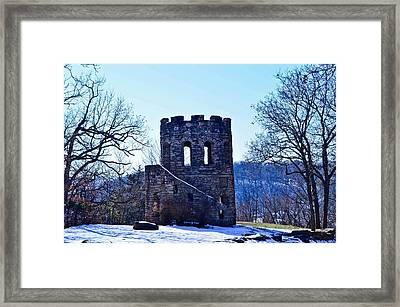 Clark Tower Framed Print by Julio n Brenda JnB