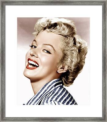 Clash By Night, Marilyn Monroe, 1952 Framed Print by Everett