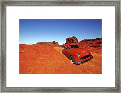 Framed Print featuring the photograph Clashing With Nature by Bill Dutting