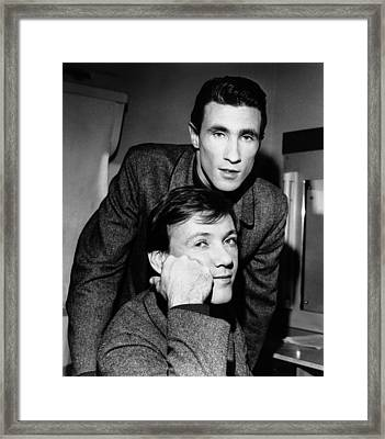 Classic 60's - Righteous Brothers Framed Print by Chris Walter
