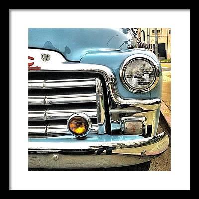 Car Framed Prints