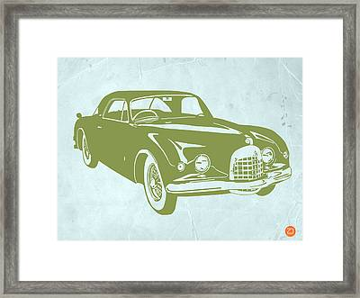 Classic Car Framed Print by Naxart Studio
