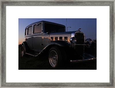 Classic Chevrolet Framed Print