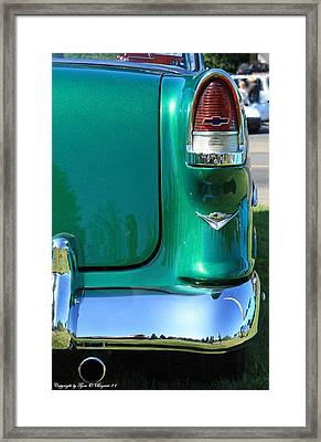 Framed Print featuring the photograph Classic Chevy by Tyra  OBryant