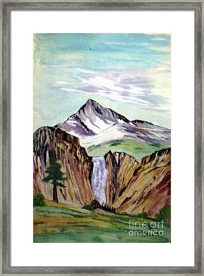 Classic Cliffs Of Splendor Framed Print