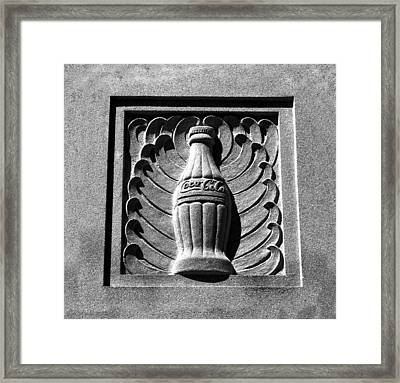 Classic Coke Circa 1920 Framed Print by David Lee Thompson