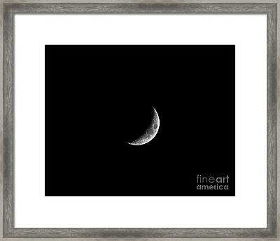 Classic Crescent Framed Print by Al Powell Photography USA