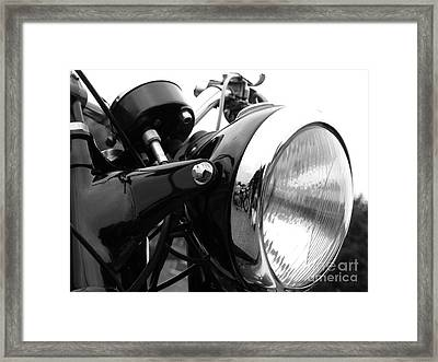 Classic Douglas Headlight Framed Print by Andrew May