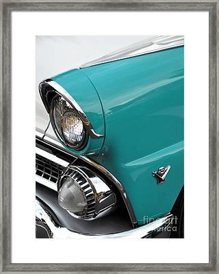 Classic Ford Framed Print by John Black