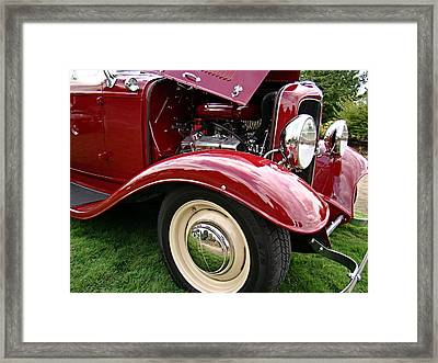 Framed Print featuring the photograph Classic Ford by Nick Kloepping