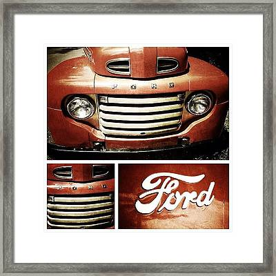 Classic Ford Truck Framed Print