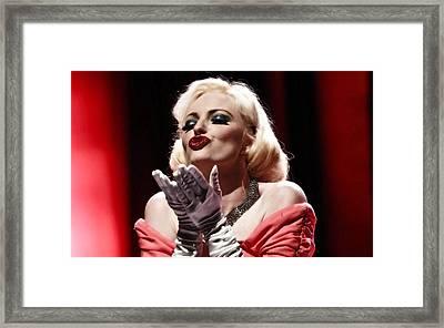 Classic Marilyn Framed Print by Elizabeth Hart