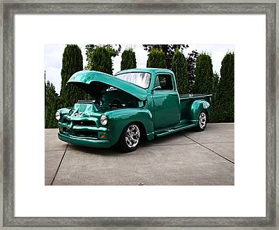 Framed Print featuring the photograph Classic Pickup by Nick Kloepping
