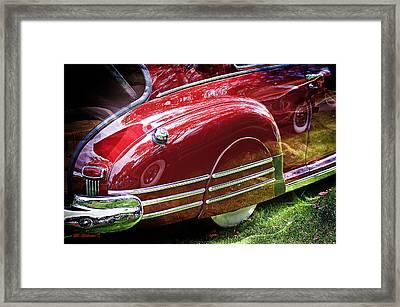 Classic Pontiac Framed Print by SM Shahrokni