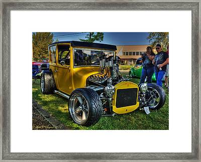 Classic Roadster Framed Print