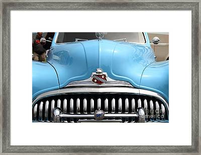Classic Super Eight Grille 7d15155 Framed Print by Wingsdomain Art and Photography