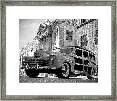 Classic Wood Framed Print by Joe Russell
