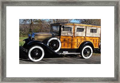 Classic Wood Framed Print