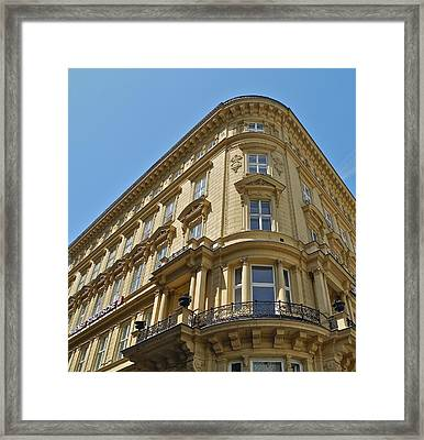 Classical Architecture In Vienna Framed Print by Kirsten Giving