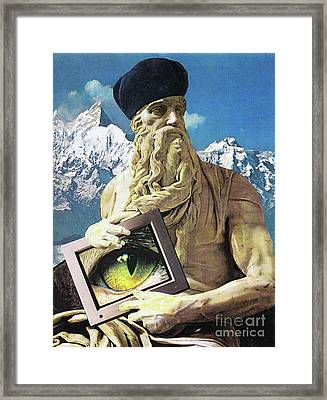 Classical Eye Framed Print