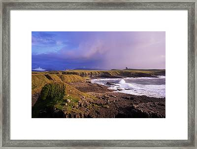 Classiebawn Castle, Mullaghmore, Co Framed Print by The Irish Image Collection