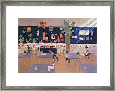 Classroom Framed Print by Andrew Macara