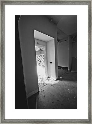 Classroom Number 20 Framed Print by Christopher Kulfan