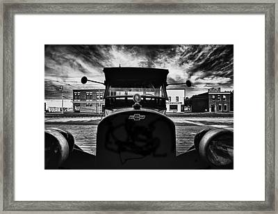 Classy Chassis Framed Print by Russell Styles