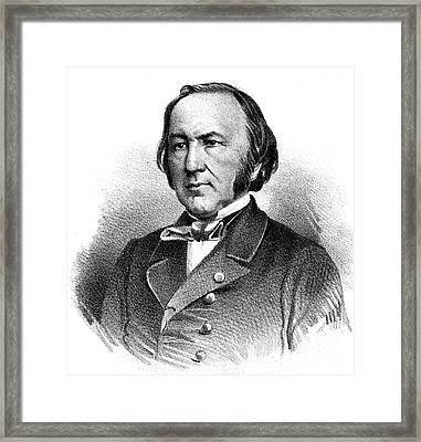 Claude Bernard, French Physiologist Framed Print