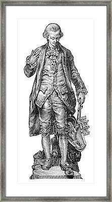 Claude De Jouffroy, French Engineer Framed Print by