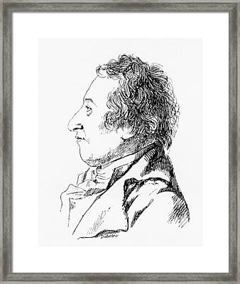 Claude-louis Berthollet, French Chemist Framed Print by